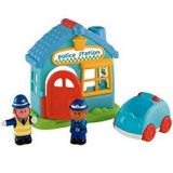 HAPPYLAND PLAYSET POLICE STATION