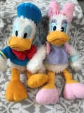 Plyšoíý DONALD AND DAISY DUCK DISNEY