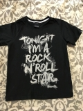Tricko TONIGHT I AM A ROCK AND ROLL STAR