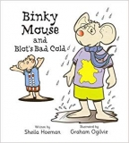 Knížka binky mouse and blots bad cold
