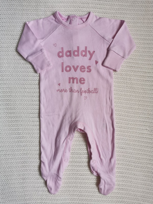 overálek MY DADDY LOVES ME MATALAN 56cm