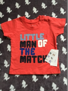 Tričko LITTLE MAN OF THE MATCH NOVÉ