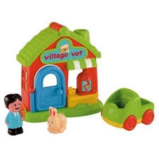 HAPPYLAND PLAYSET VILLAGE VET