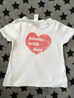 Tricko HANDLE WITH CARE ZARA BABY