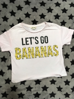 Tricko LETS GO BANANAS RIVERISLAND