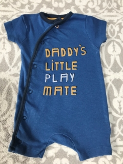 Letni Overálek DADDYS LITTLE PLAY MATE MOTHERCARE
