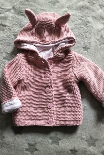 Chunky cotton knit cardigan MOTHERCARE