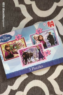 3x puzzle 50ks FROZEN DISNEY