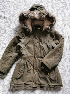 Khaki parka YOUNG DIMENSION