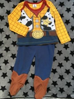 Pyzamo SHERIFF WOODY DISNEY TOY STORY