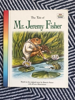 Knížka o žabákovi THE TALE OF JEREMY FISHER