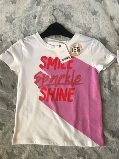 Tričko SMILE SPARKLE SHINE NEXT NOVÉ