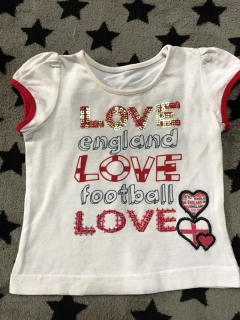 Tričko I LOVE FOOTBALL MATALAN 68cm