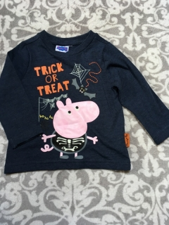 Tričko TRICK OR TREAT GEORGE PEPPA PIG