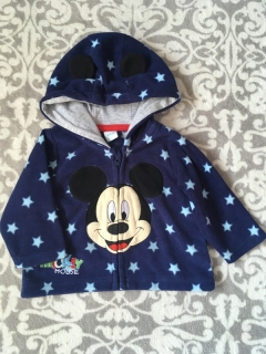 Fleese Mikinka MICKEY MOUSE DISNEY