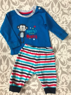 Pyzamo MUMMYS LITTLE MONKEY PRIMARK
