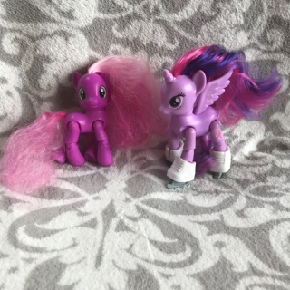2 x MY LITTLE PONY