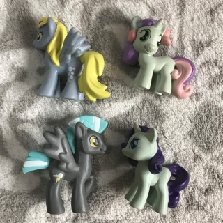 4 x figurky MY LITTLE PONY