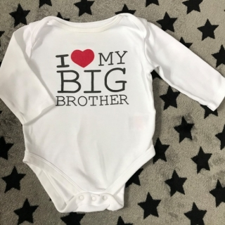 BodyI LOVE MY BIG BROTHER MOTHERCARE