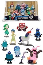 10 x figurky INSIDE OUT DISNEY STORE