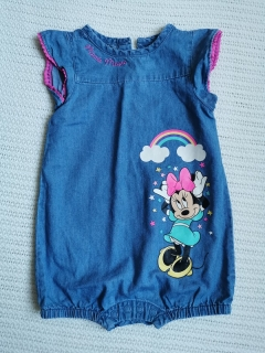 Denim overálek MINNIE MOUSE DISNEY