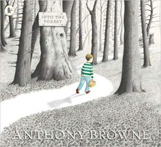 Knížka INTO THE FOREST ANTHONY BROWNE