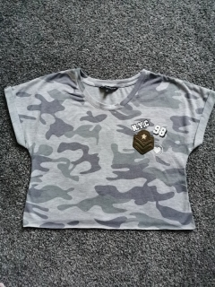 Trendy camouflage top CANDY