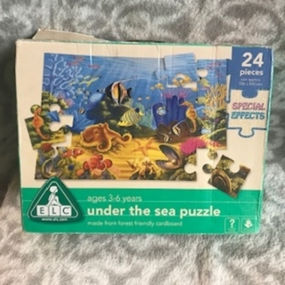 Puzzle UNDER THE SEA 24KS