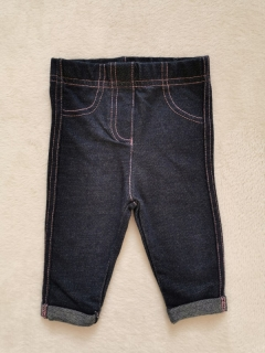 legínky denim GEORGE 62cm