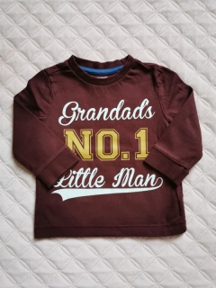 Tričko GRANDAD NO1 LITTLE MAN F&F