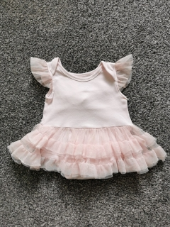 Šatové TUTU body BABY ESSENTIALS 62cm